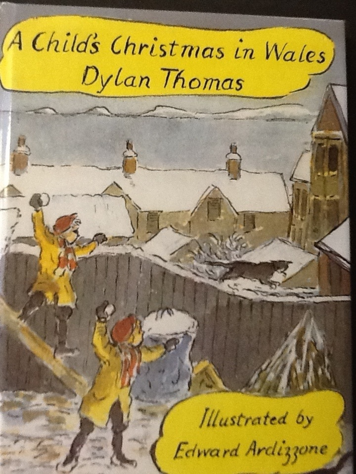 A Childs Christmas In Wales.Rothley Community Library Book Group A Child S Christmas